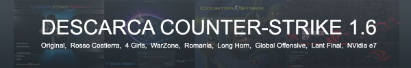 Banner Download CS 1.6 - Bcs16 Romania