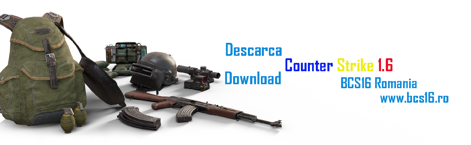 Descarca/Download CS Counter-Strike 1.6 Original - Bcs16 Romania